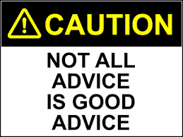 slecht advies